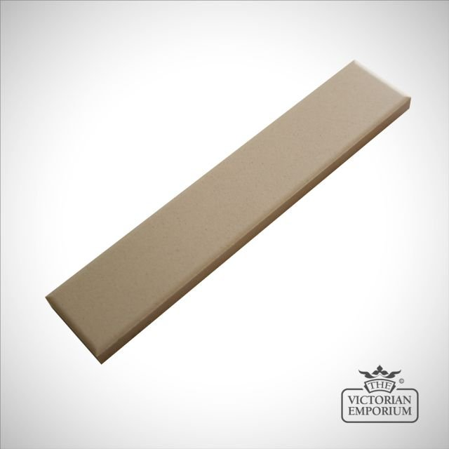 Victorian Border tiles - plain white strips