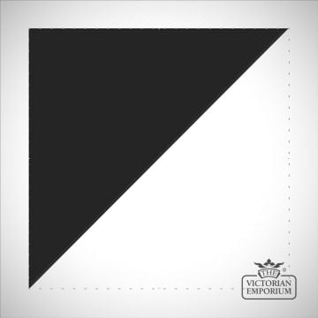 Black Triangle/Half square tiles