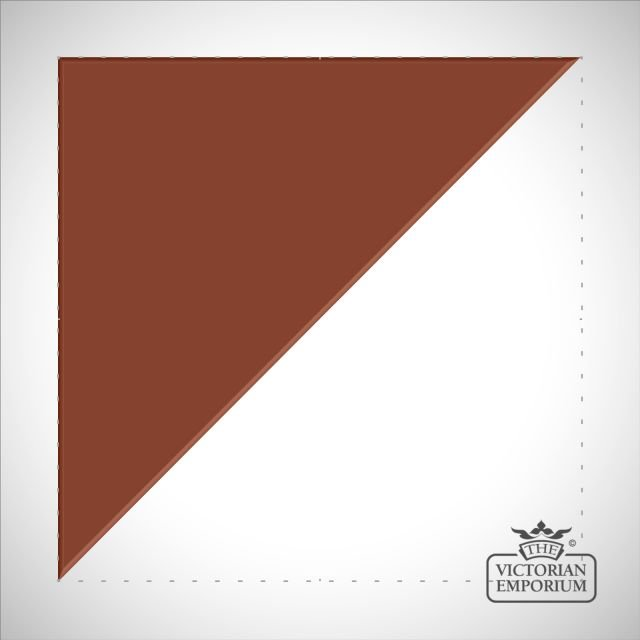 Red Triangle/Half square tiles