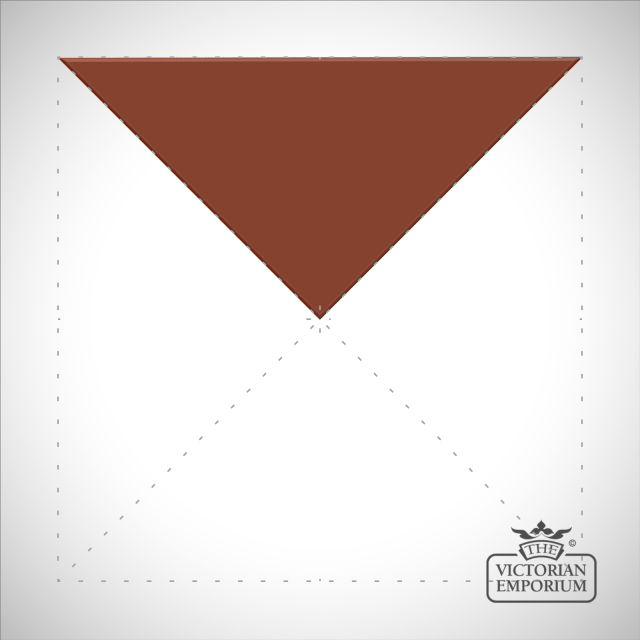 Red Triangle/Half small square tiles