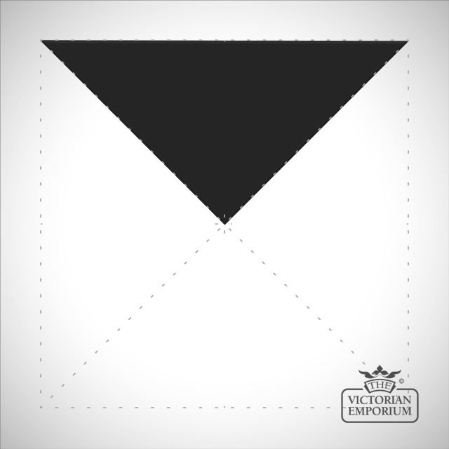 Black Triangle/Half small square tiles