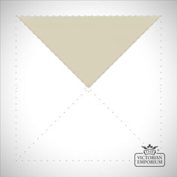 White Triangle/Half small square tiles