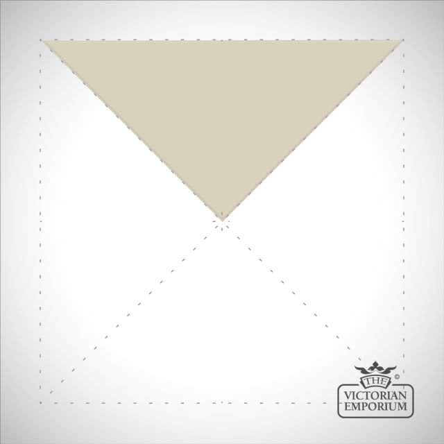 White Triangle/Quarter square tiles