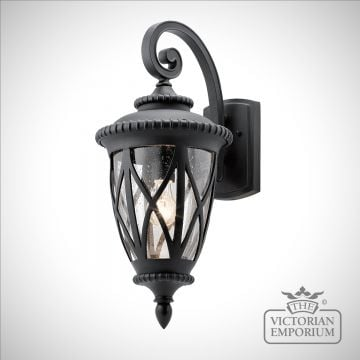 Admiral exterior wall light in a choice of sizes
