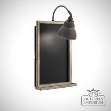 Chalkboard wall light