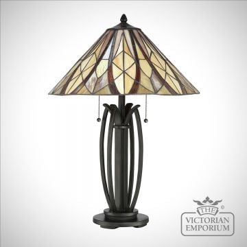 Tiffany Victory Table Lamp