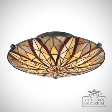 Tiffany Victory Ceiling Flush Mount Light