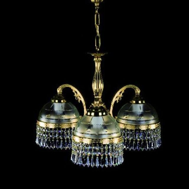 Cast chandelier