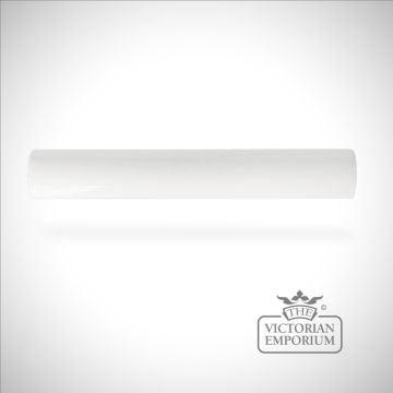 Plain Victorian trim tiles 200x25mm in White