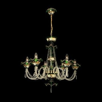 Coloured chandelier 26