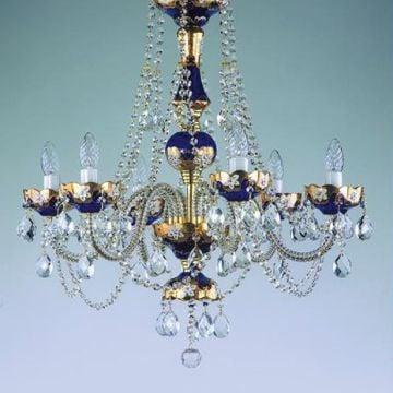 Coloured chandelier 09