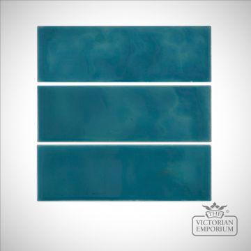 Deep Blue Fireplace tiles