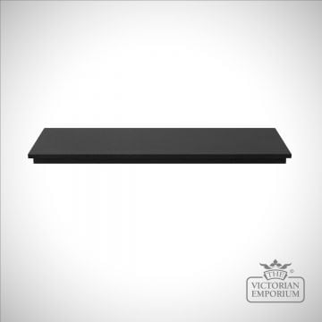 Honed Black Granite Hearth