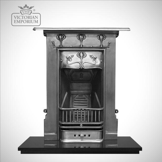Abbotts Victorian style cast iron fireplace