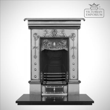 Belle Small Victorian style cast iron fireplace