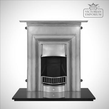 Oxon Victorian style cast iron fireplace