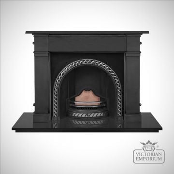 Westminster Victorian style cast iron fireplace insert