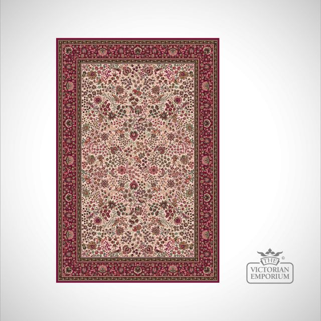 Victorian Rug - style IM1959 Red 2