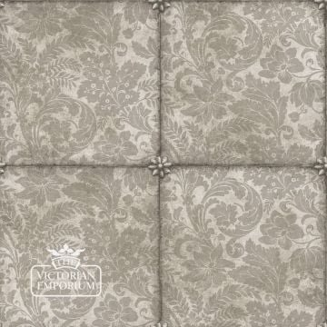 Kings Argent wallpaper in Metallic Silver Foil or Gilver Foil