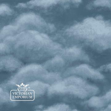 Fresco Sky Wallpaper in Sky Blue, Mink or Midnight