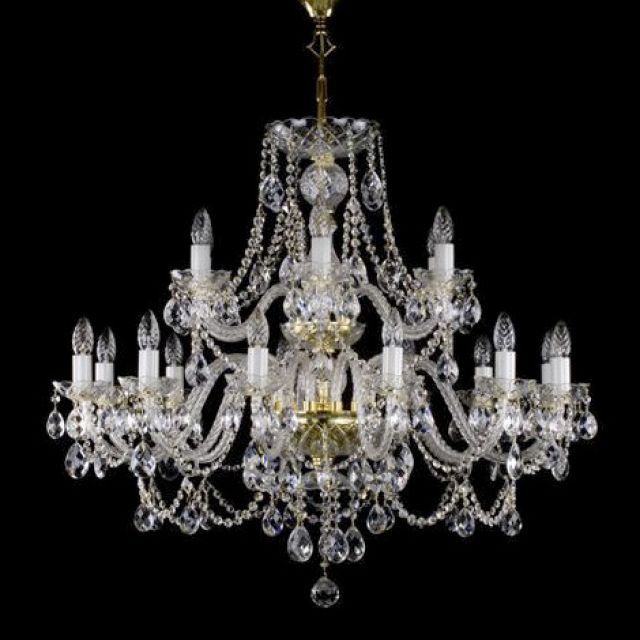 Large two tier chandelier