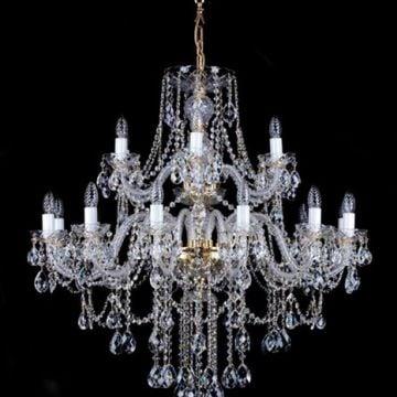 Classic 2 tier chandelier