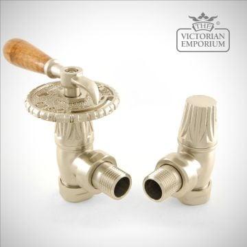Benthall Steampunk Lever Radiator valve set