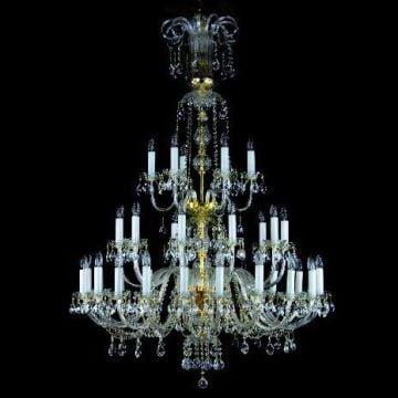 Ve crystal pendent large chandelier rach-36