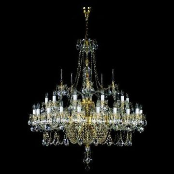 Grand statement chandelier
