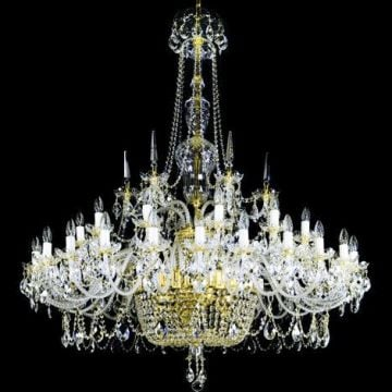 Grander statement chandelier