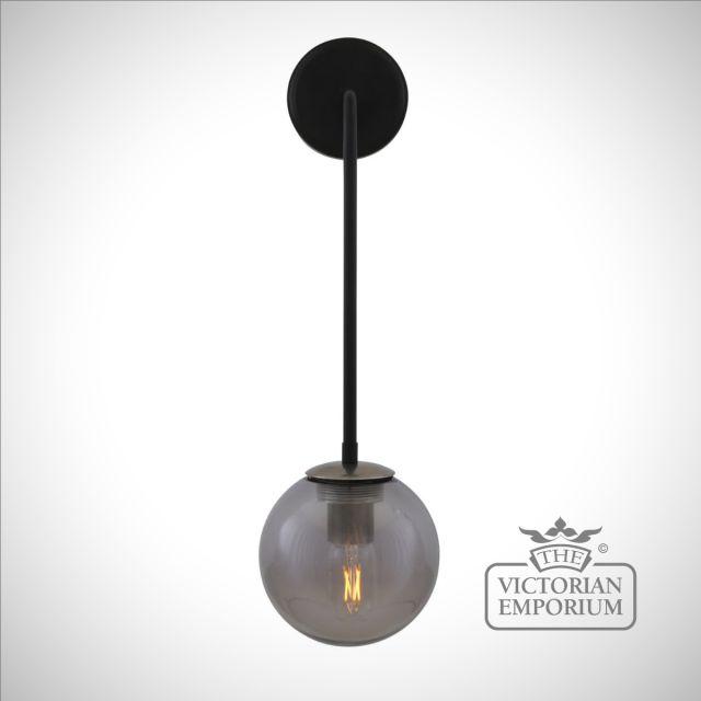 New Port Glass Globe Wall Light