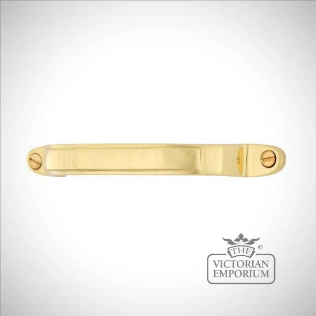 Lismore brass pull handle in a choice of sizes and finishes