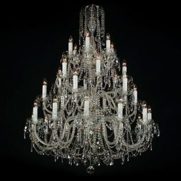 Sumptuous large chandelier