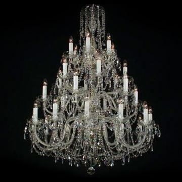 Sumptuous large chandelier