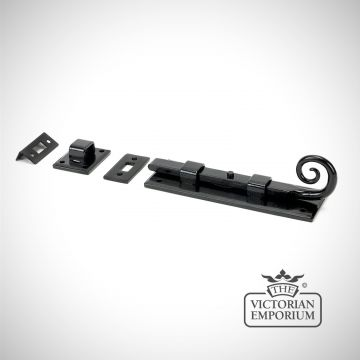 "Black 6"" Monkeytail Universal Bolt"