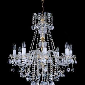 Ve-crystal pendent chandelier adeld