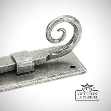 "6"" Monkeytail Bolt in Antique Pewter"