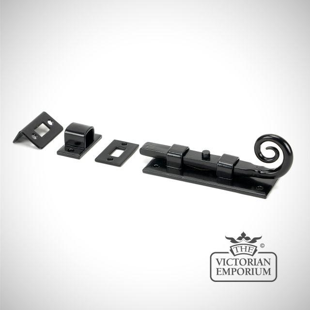 "Black 4"" Monkeytail Universal Bolt"