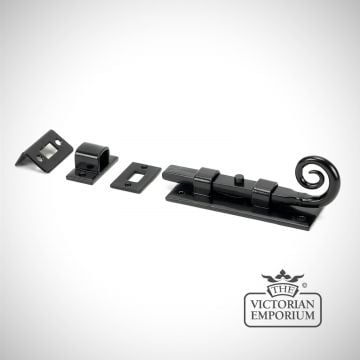 "Black 4"" Monkeytail Universal Bolt"