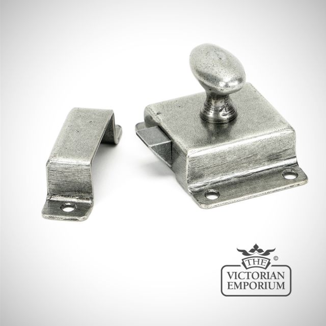 Cabinet Latch in Antique Pewter