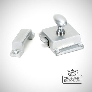 Cabinet Latch in Satin Chrome