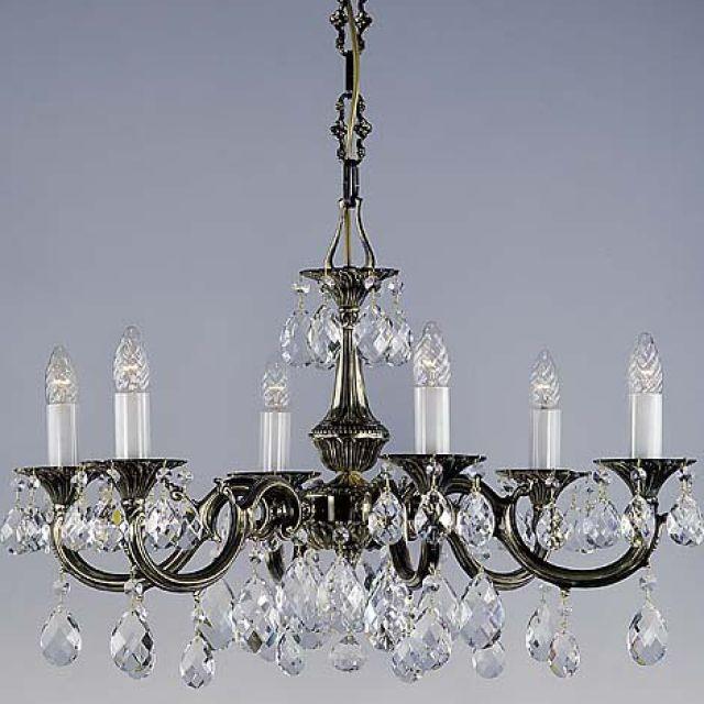 Elegant cast chandelier
