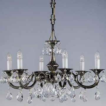 Elegant cast chandelier