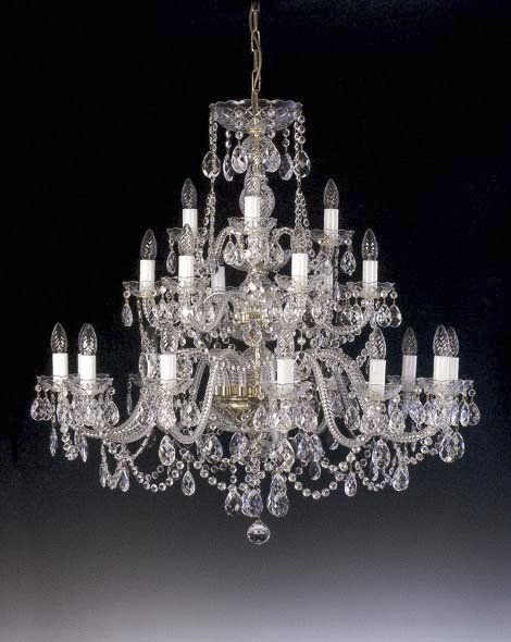 Traditional crystal chandelier large ceiling chandeliers - Traditional crystal chandeliers ...