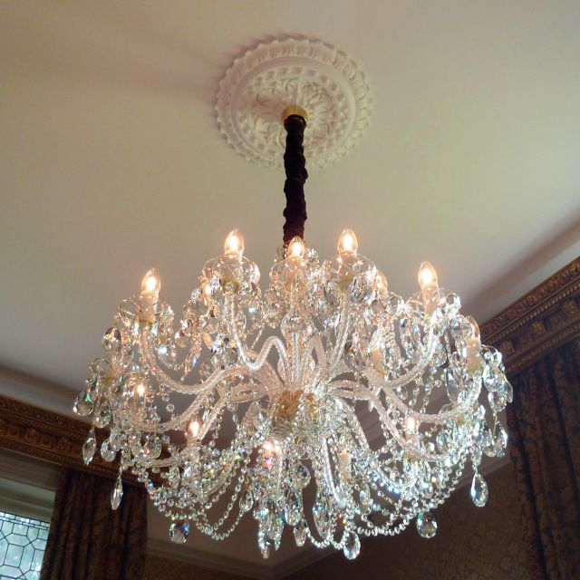 Large classical chandelier