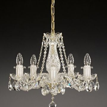 Small lead crystal chandelier