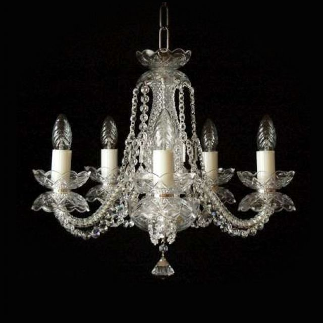 Small crystal chandelier 2