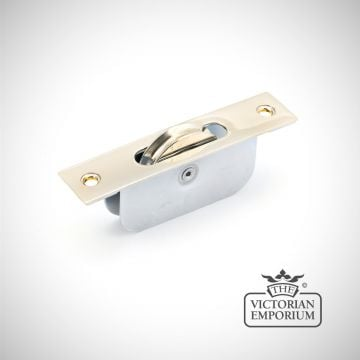 Square Ended Sash Pulley 75kg in  a choice of finishes