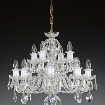 Stunning medium chandelier (kath 8+4)