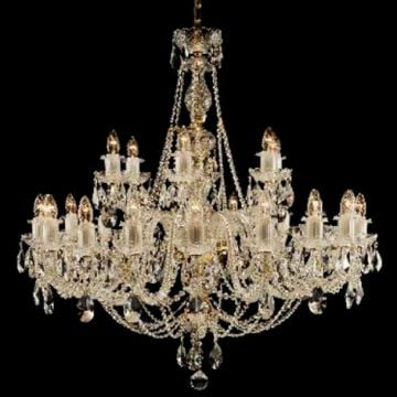 Large ornate chandelier